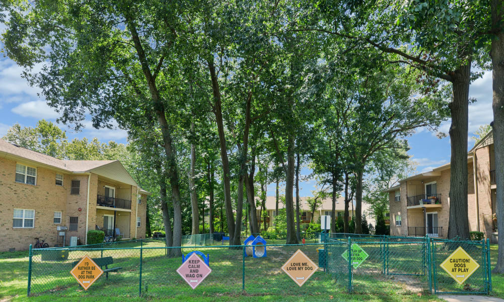 Our Apartments in Moorestown, New Jersey offer a Dog Park