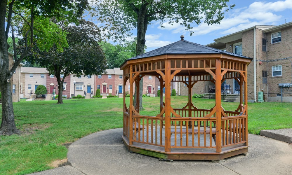 Gazebo at Moorestowne Woods Apartment Homes in Moorestown, New Jersey