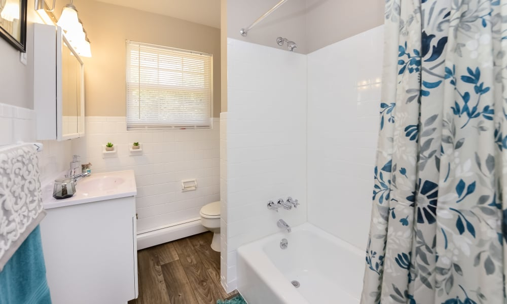Bathroom at Apartments in Maple Shade, New Jersey
