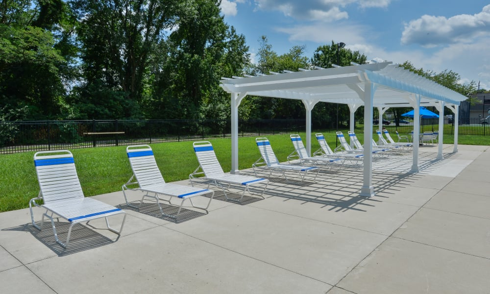 Our Apartments in Maple Shade, New Jersey offer a Pool w/ a Lounge Area