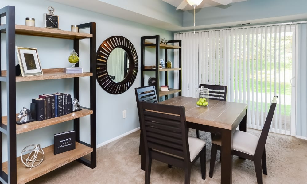 Dining Area at Apartments in Lansdale, Pennsylvania