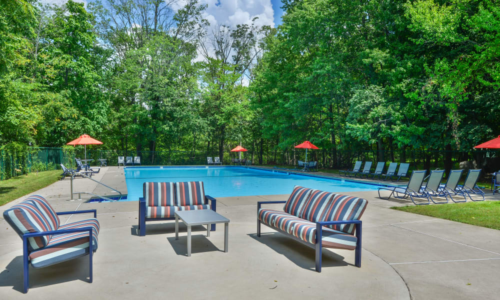 Enjoy Apartments with a Swimming Pool at Brookside Manor Apartments & Townhomes