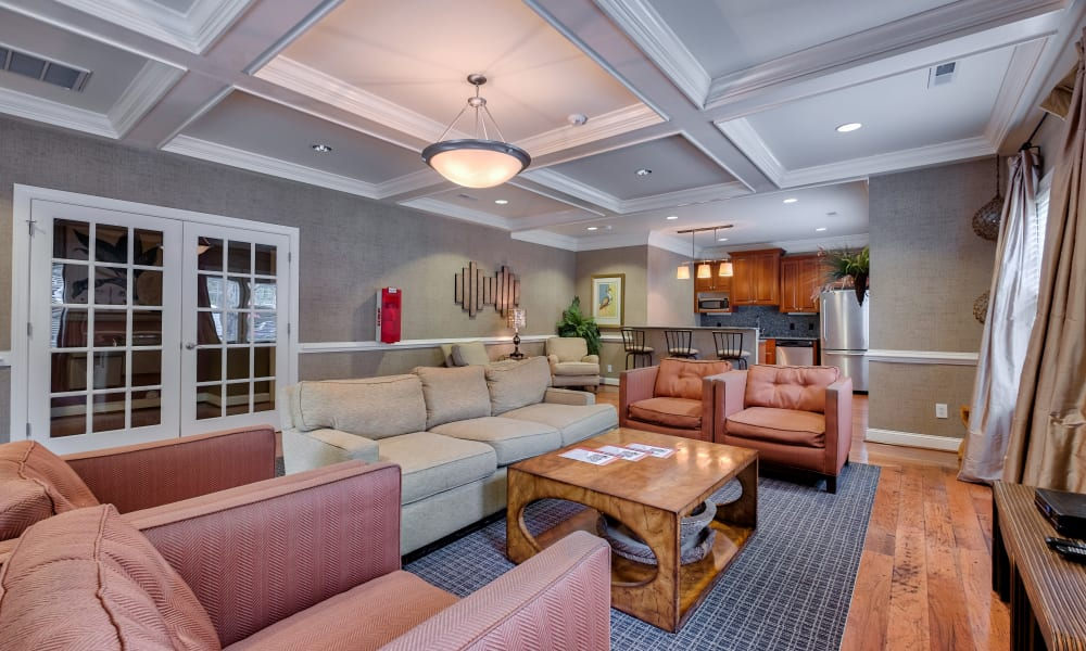 Clubhouse at Maple Bay Townhomes in Virginia Beach, Virginia