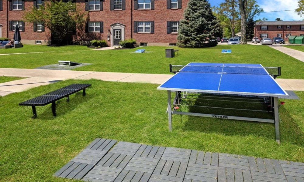 The Villas at Bryn Mawr Apartment Homes in Bryn Mawr, Pennsylvania offers outdoor games