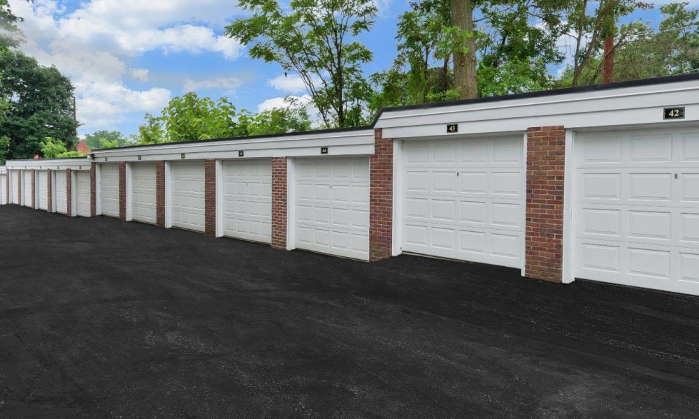 Garages available at The Villas at Bryn Mawr Apartment Homes in Bryn Mawr, Pennsylvania