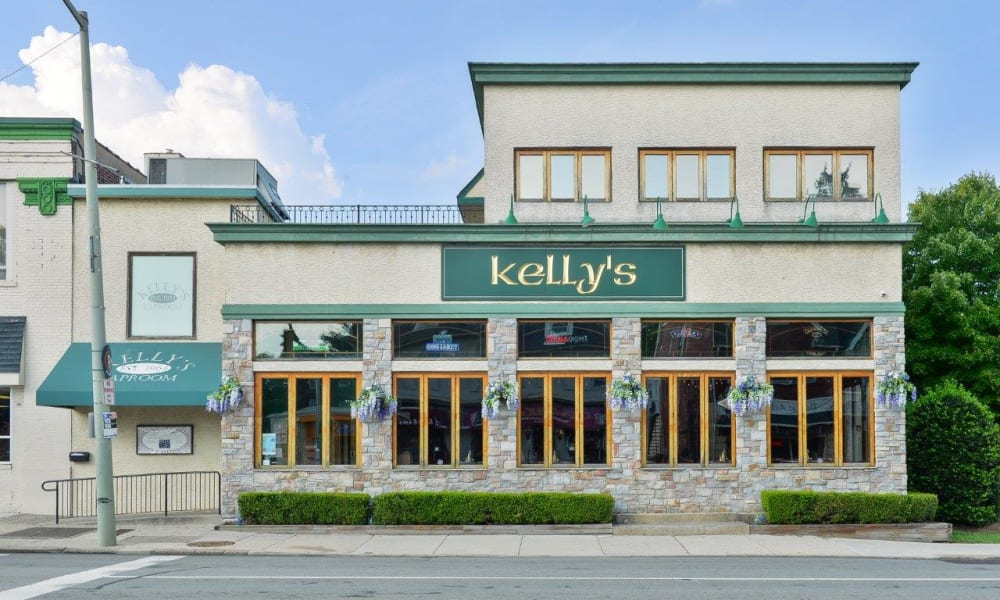 Kelly's tap room nearby The Villas at Bryn Mawr Apartment Homes in Bryn Mawr, Pennsylvania