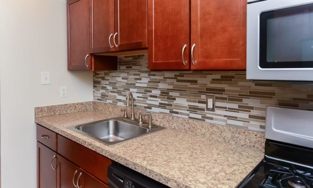 The Villas at Bryn Mawr Apartment Homes offers a Kitchen in Bryn Mawr, Pennsylvania