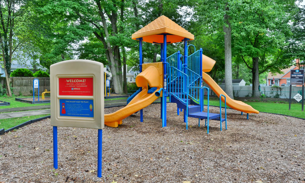Our Apartments in Westfield, New Jersey offer a Playground