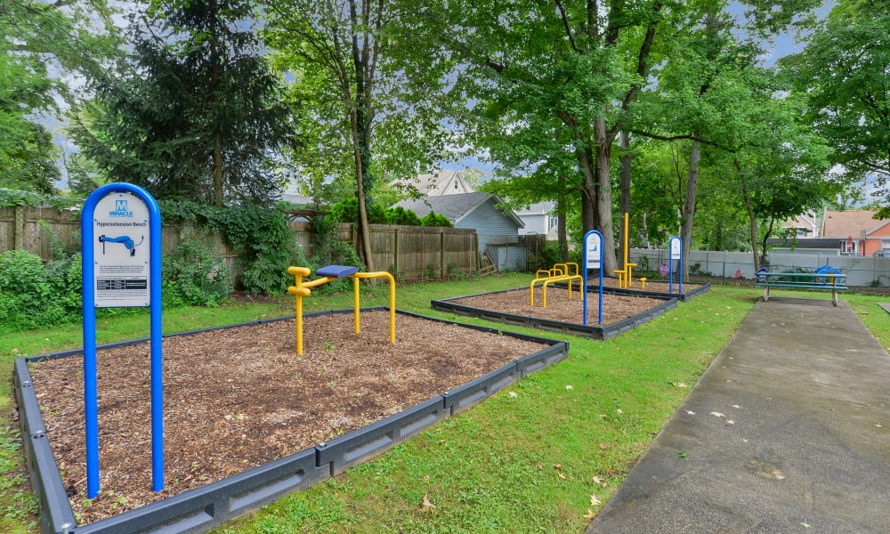 Playground at Apartments in Westfield, New Jersey