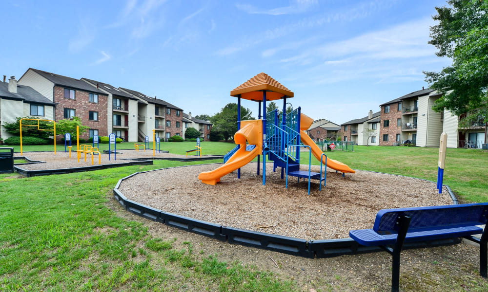 Our Apartments in East Brunswick, New Jersey offer a Playground