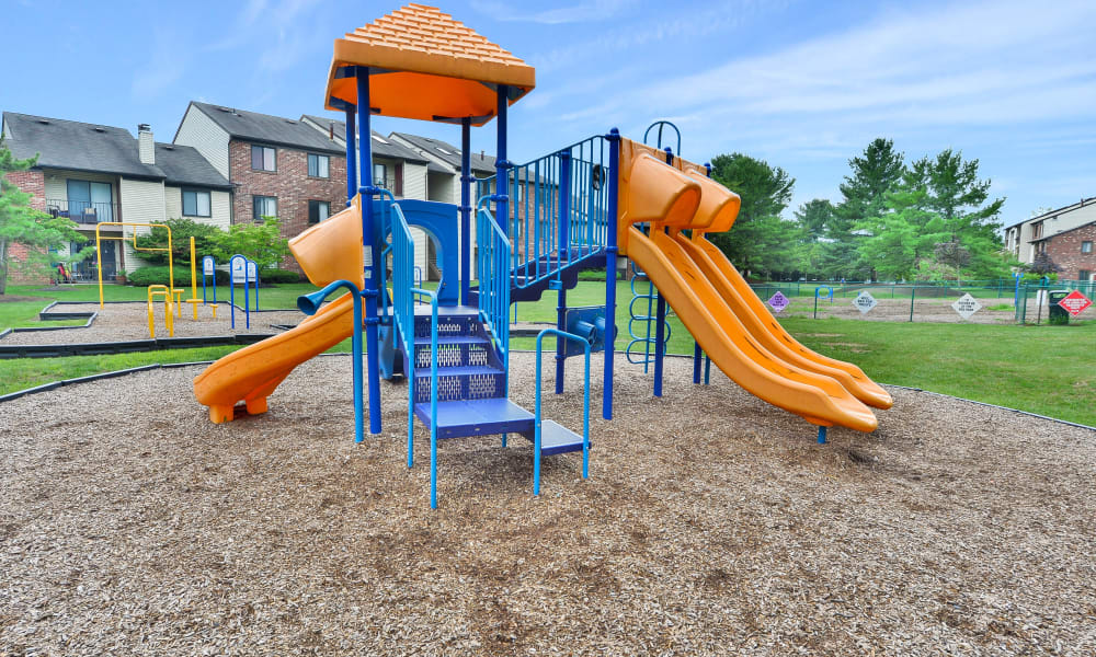 Cranbury Crossing Apartment Homes offers a Playground in East Brunswick, New Jersey