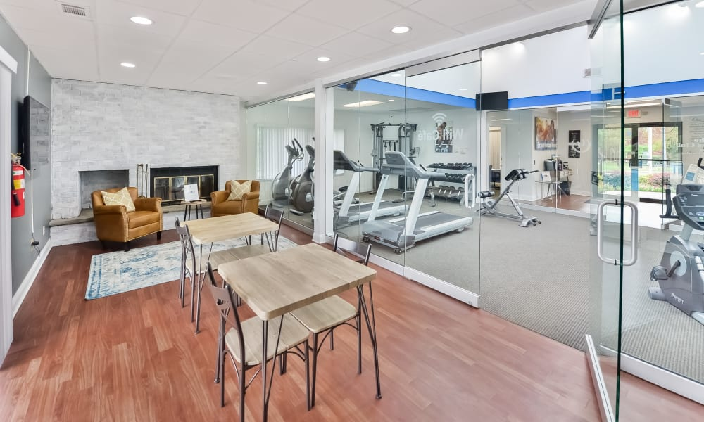 Fitness Center at Cranbury Crossing Apartment Homes in East Brunswick, New Jersey
