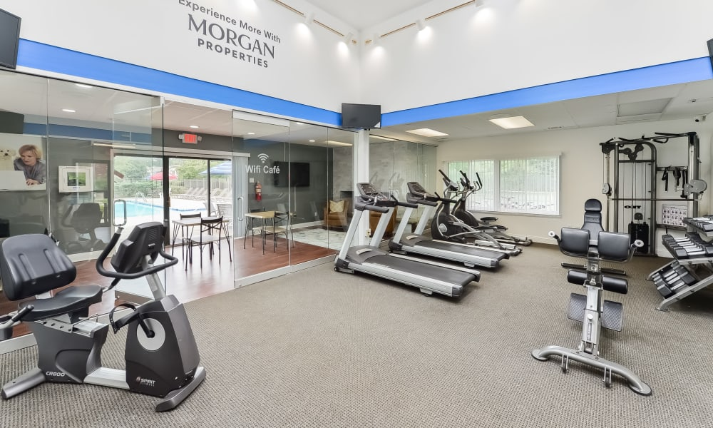 Our Apartments in East Brunswick, New Jersey offer a Fitness Center