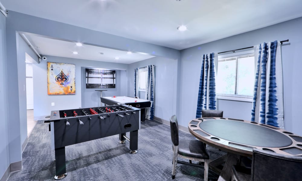 Room great for entertaining at Gwynn Oaks Landing Apartments & Townhomes, MD