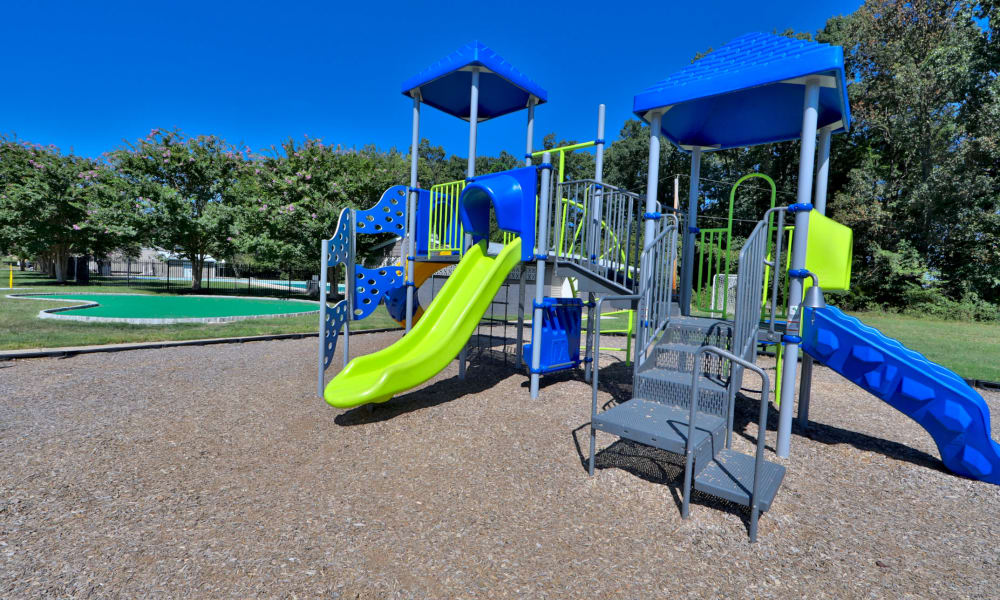 Big playground at Gwynn Oaks Landing Apartments & Townhomes, MD
