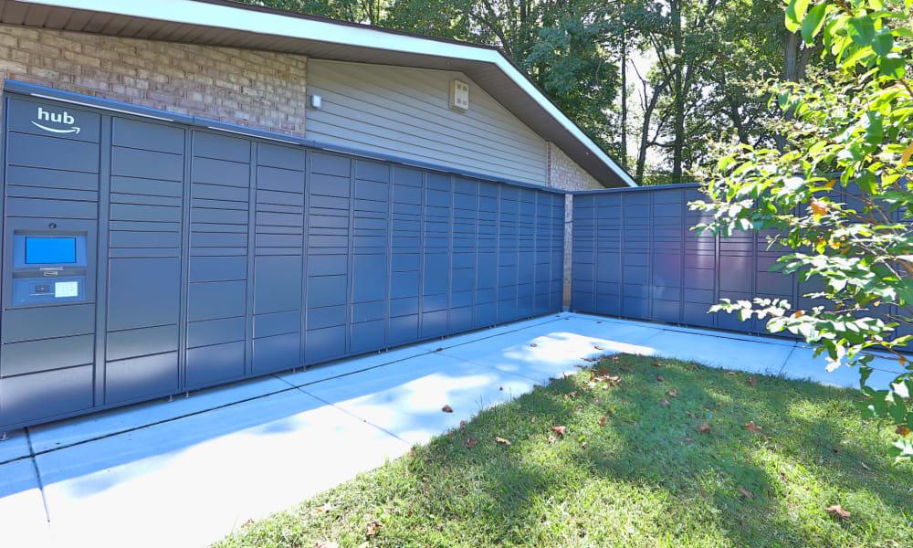 Amazon storage units at Gwynn Oaks Landing Apartments & Townhomes, MD