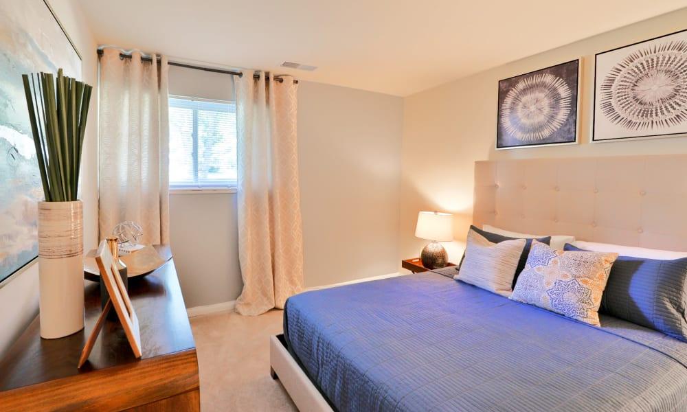 Beautiful bedroom at Gwynn Oaks Landing Apartments & Townhomes, MD