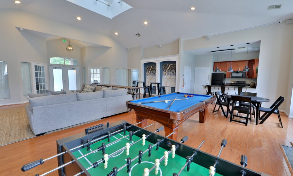 Our Apartments in Baltimore, Maryland offer a Clubhouse with a Game Room