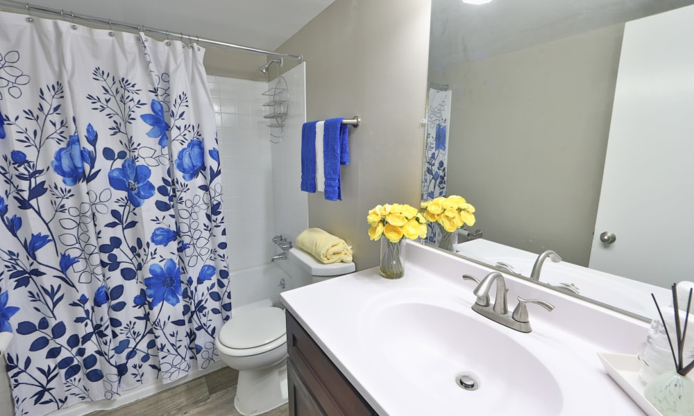 Bathroom at The Reserve at Greenspring in Baltimore, Maryland