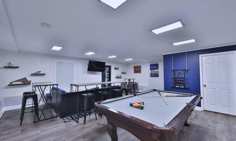Game Room in the Clubhouse at The Reserve at Greenspring in Baltimore, MD