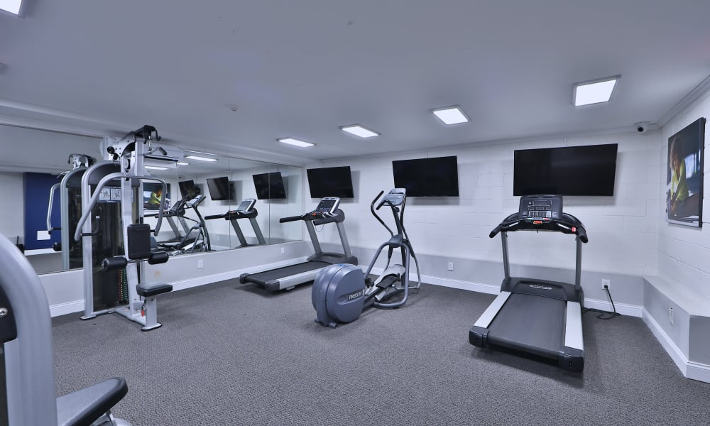 Enjoy Apartments with a Gym at The Reserve at Greenspring