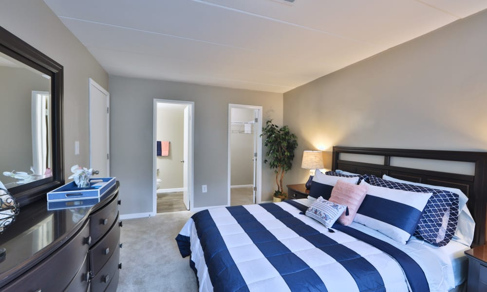 Bedroom at The Reserve at Greenspring in Baltimore, Maryland