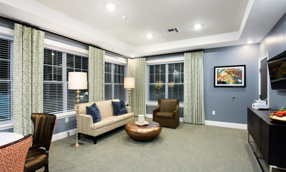 Example living space in Anthology of Rochester Hills in Rochester Hills, Michigan