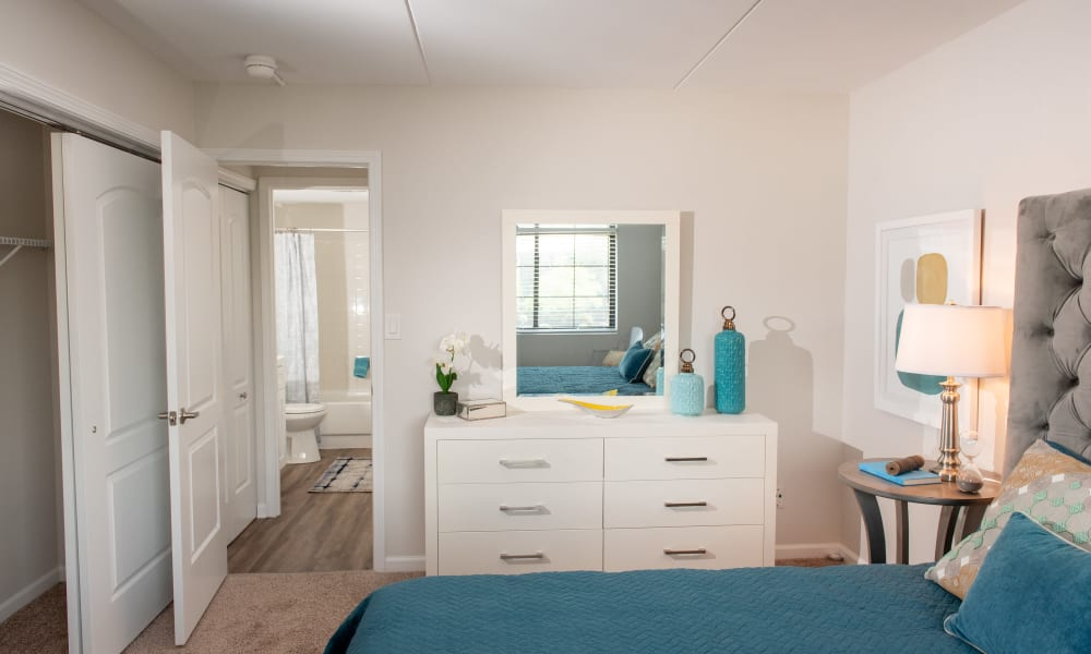 Dresser at Pine Hill Apartments in Wheeling, Illinois