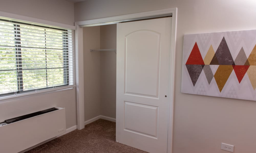 Pine Hill Apartments closet in Wheeling, Illinois