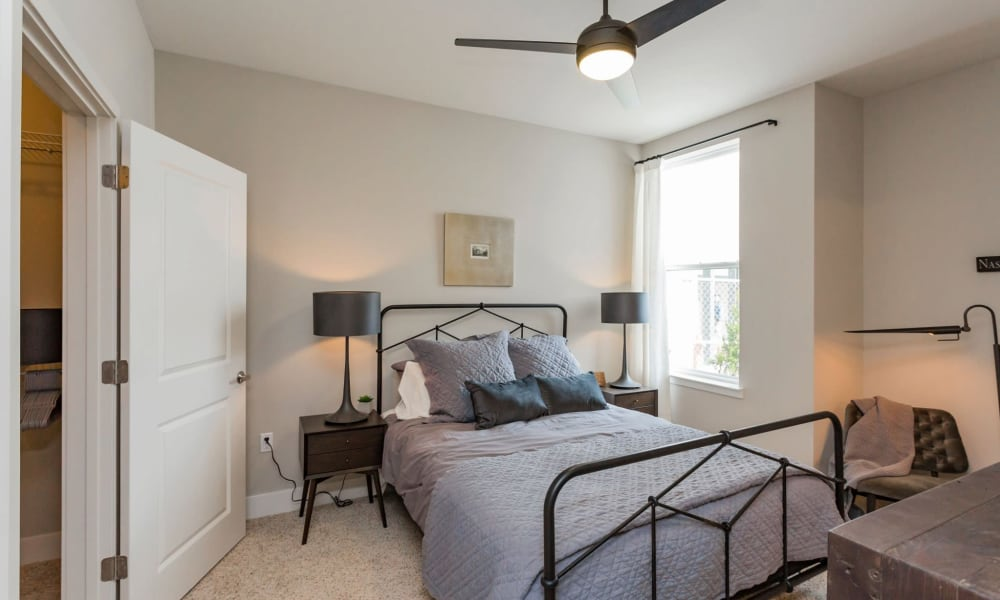 Additional bedroom at Rivertop Apartments in Nashville, Tennessee