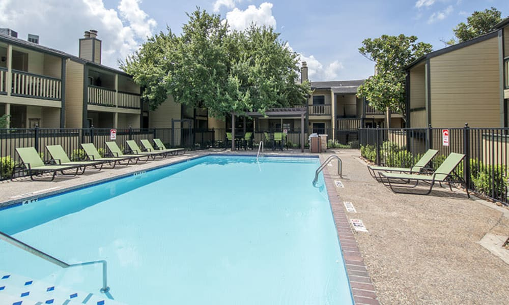 Resident pool #1 at Stonecrossing of Westchase in Houston, Texas.
