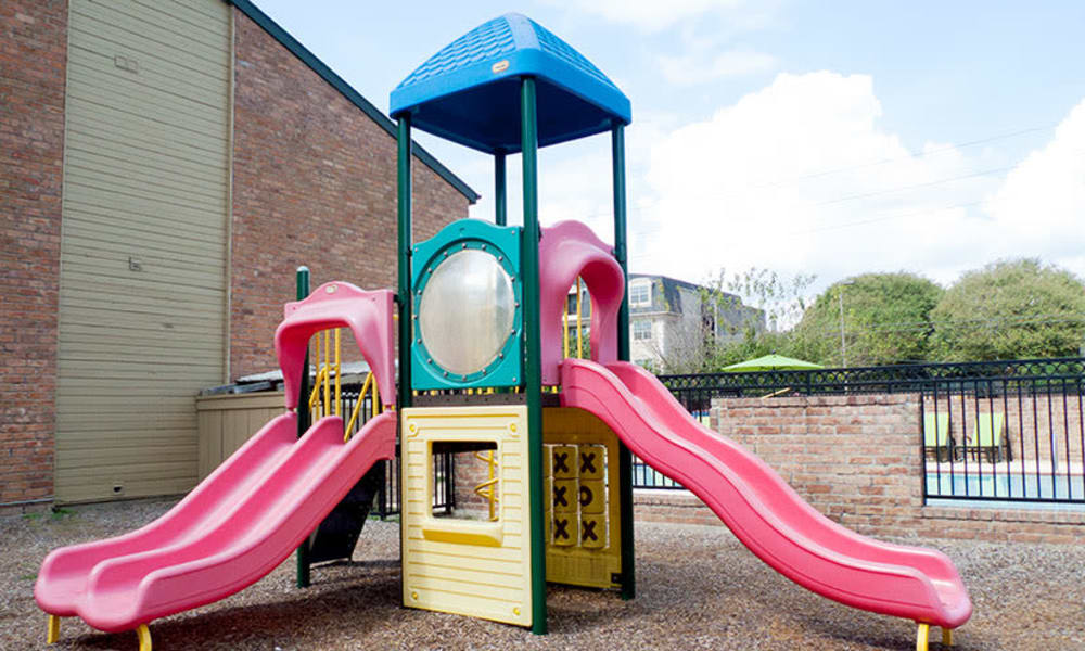 Resident playground at Stonecrossing of Westchase in Houston, Texas.
