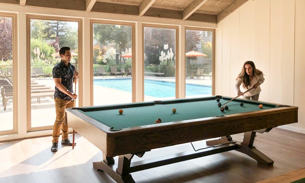 Play amenities at Glenbrook Apartments in Cupertino, California