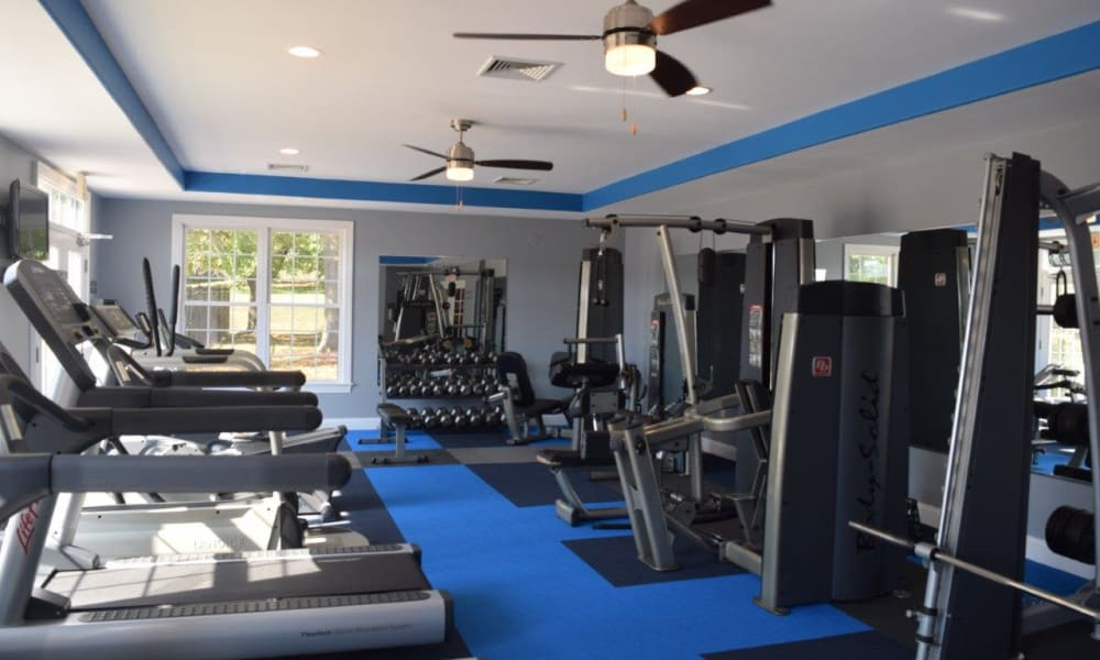 Cardio room at The Preserve at Milltown in Downingtown, PA