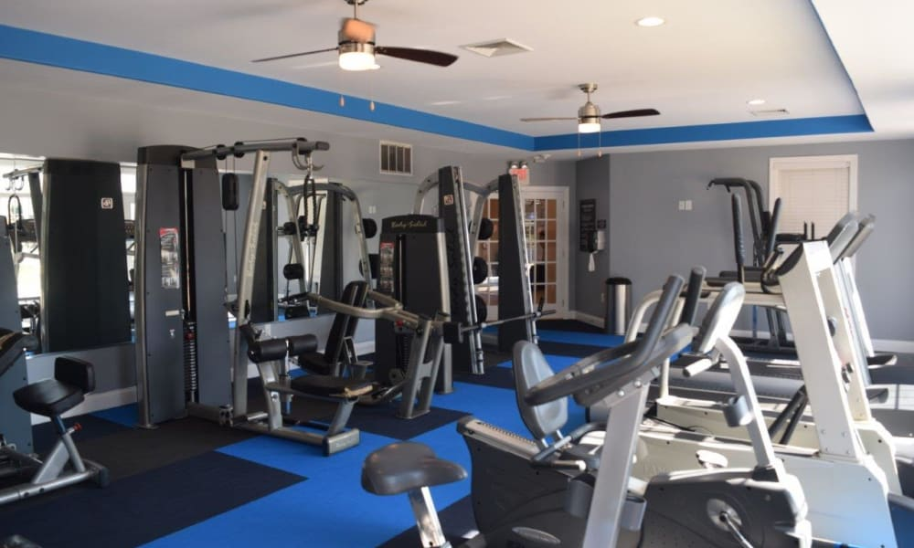 Workout area at The Preserve at Milltown in Downingtown, PA