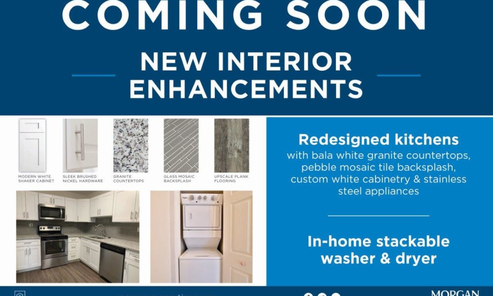 New Interior Enhancements Coming Soon At Mount Vernon Square Apartments in Alexandria, Virginia