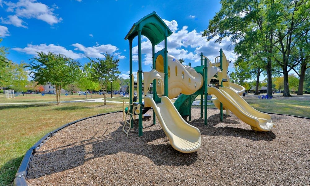 Playground at Mount Vernon Square Apartments in Alexandria, Virginia