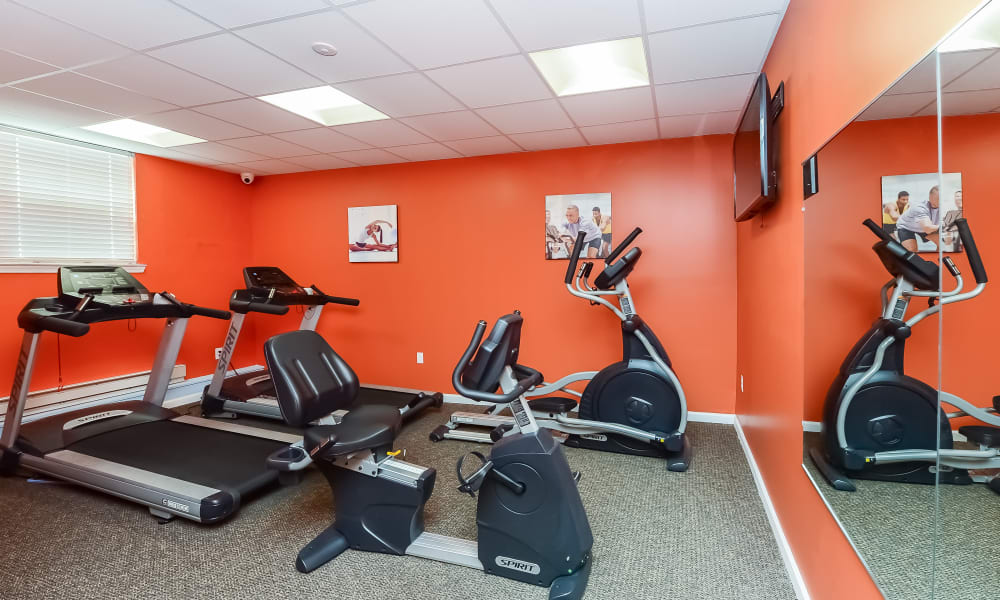 Our Apartments in Marlton, New Jersey offer a Fitness Center