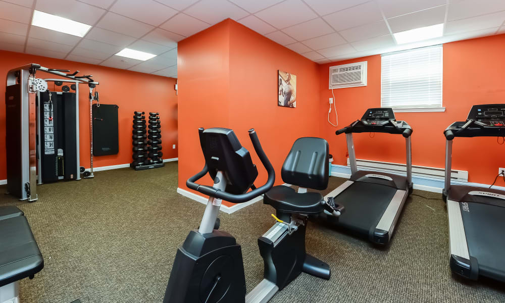 Our Apartments in Marlton, New Jersey offer a Gym
