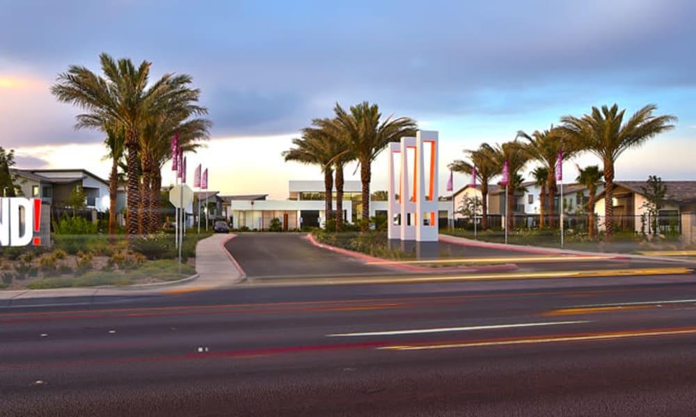 Entrance of Trend! in Las Vegas, NV