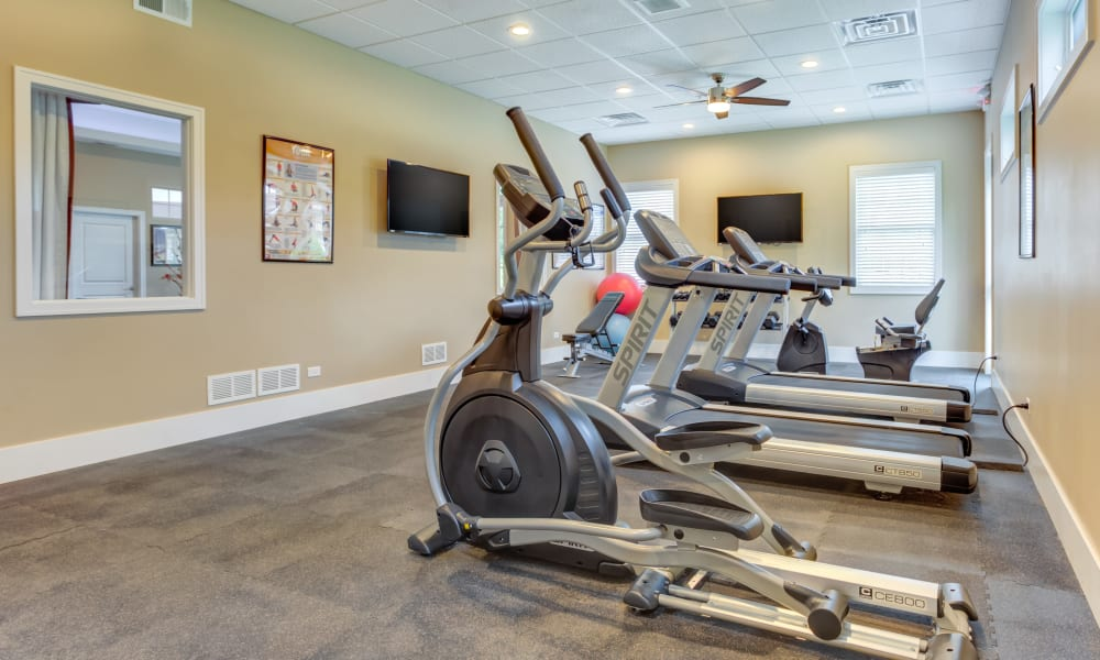 Fitness Center at Rustic Oaks in Oak Forest, IL