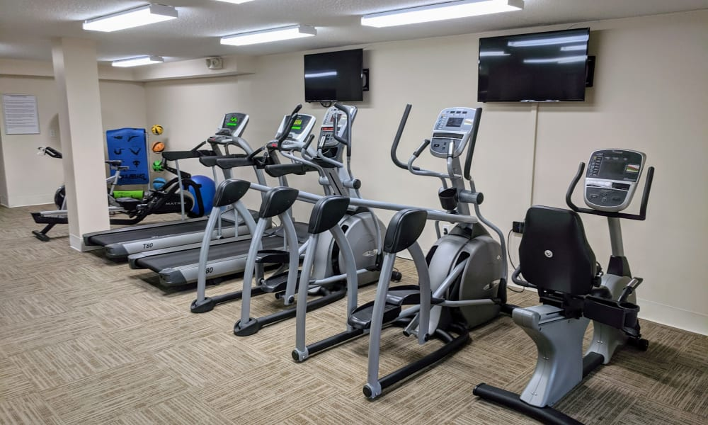 Enjoy Apartments with a Gym at Curren Terrace in Norristown, Pennsylvania