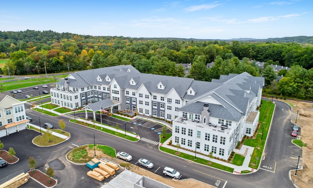 Senior living community at Anthology of Simsbury in Simsbury, Connecticut