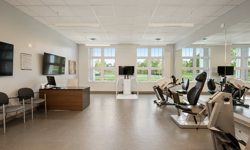 Large exercise and stretching room Anthology of Simsbury in Simsbury, Connecticut