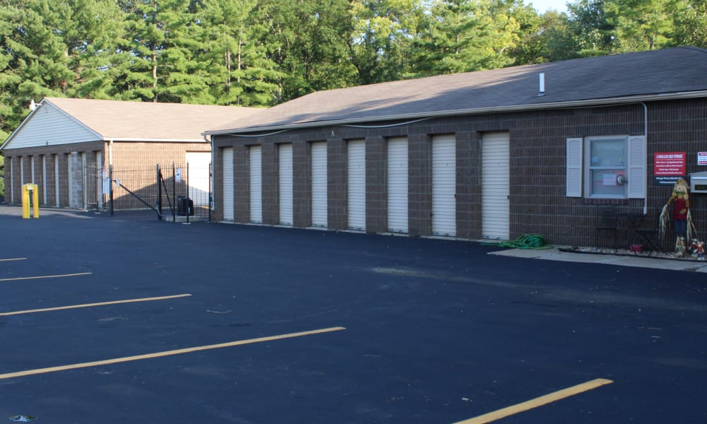 Ample parking at A Shur-Lock Self Storage in Lake St. Louis, Missouri