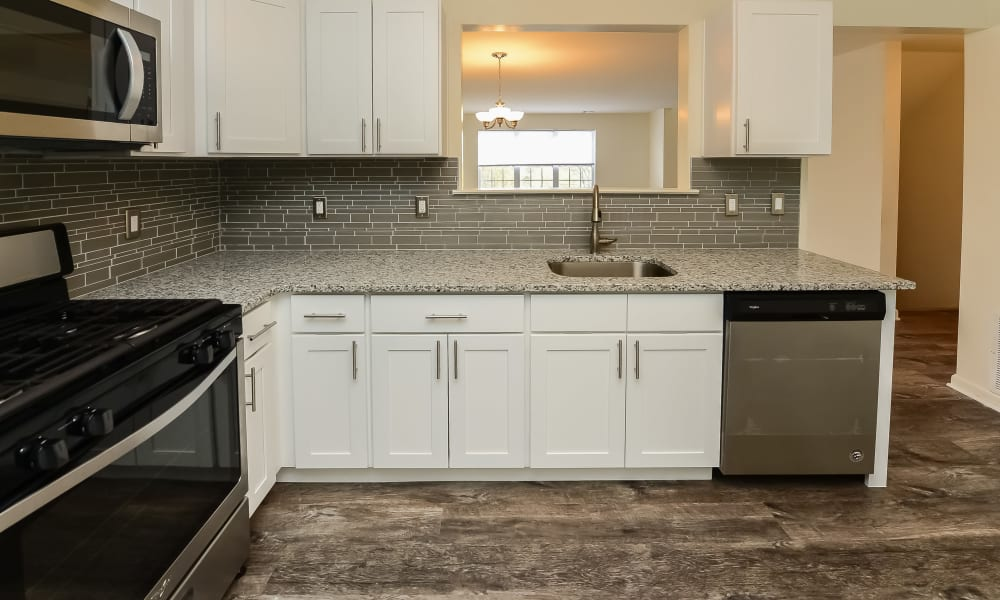 Kitchen at Apartments in Annandale, New Jersey