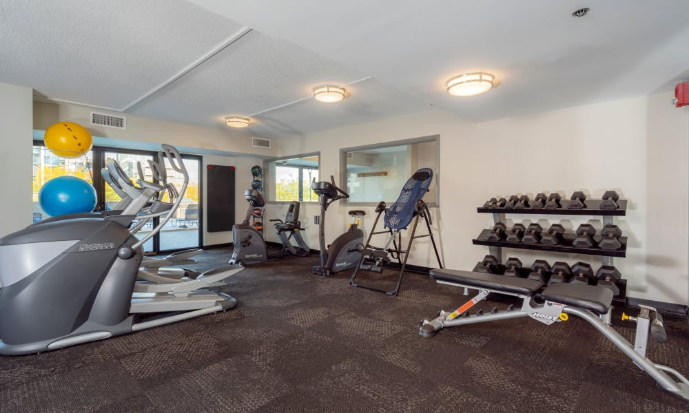 Our Apartments in Des Moines, Iowa offer a Fitness Center