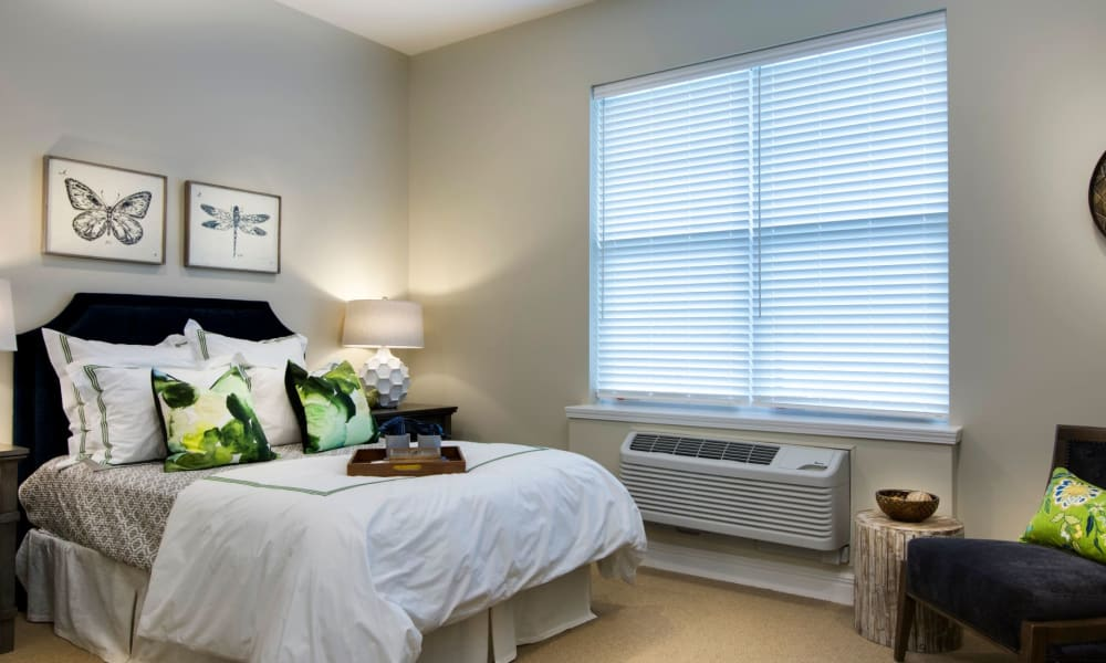 Example of a bedroom in our homes at Anthology of Burlington Creek in Kansas City, Missouri