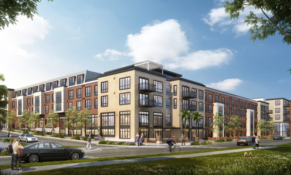 1st exterior rendering of Merrill Gardens at Columbia in Columbia, South Carolina
