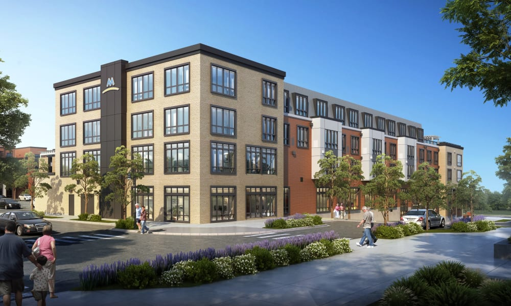 2nd exterior rendering of Merrill Gardens at Columbia in Columbia, South Carolina